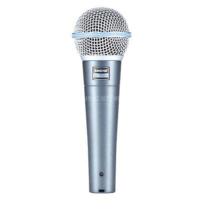SHURE BETA58A Set Dynamisches Gesangsmikrofon BETA 58A VOCAL-MIKROFON