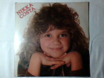 NIKKA COSTA Omonimo Same S/t lp 1981 ITALY TONY RENIS PAUL ANKA COME NUOVO!!!