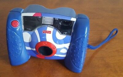 Fisher-Price Kid-Tough Blue Digital Camera with Flash