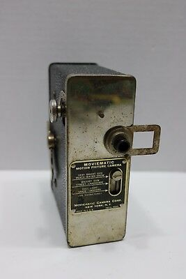 Vintage Moviematic Motion Picture Camera - Moviematic Camera Corp NY Made USA