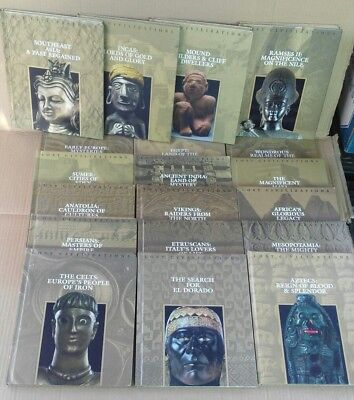 Lost Civilizations incomplete 19 Volumes Time-Life Books HC world anthropology