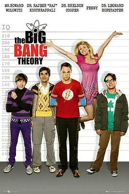 The Big Bang Theory : Line-Up - Maxi Poster 61cm x 91.5cm new and sealed