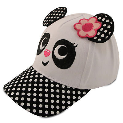 ABG Accessories Toddler Girls Baseball Cap with Assorted Animal Critter Designs