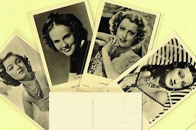 ROSS VERLAG - 1930s Film Star Postcards produced in Germany #A1856 to #A1999