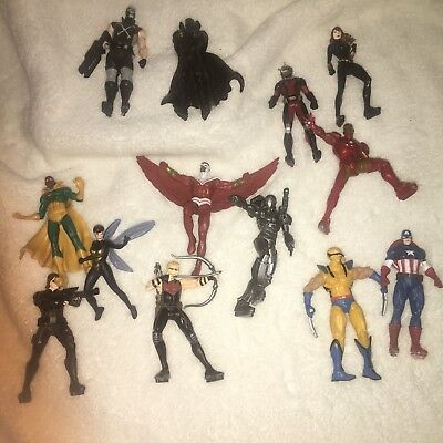 Lot of Mixed Marvel Comics Toy Action Figures AVENGERS