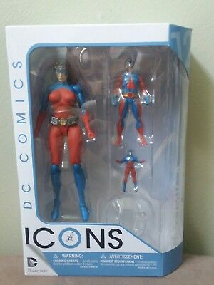 Atomica DC Comics Icons Action Figure Collectibles Forever Evil New Sealed