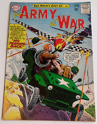 Our Army At War #140 1964 F/VF Kubert Sgt. Rock & Easy Co. !