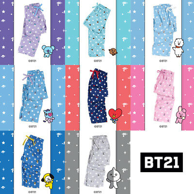 BT21 Official Authentic Goods Pajamas Pants BTS CHIMMY COOKY KOYA Etc
