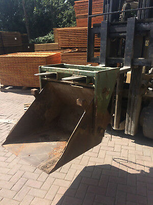 Leonard Tipping Scoop / Loading Bucket Only For Forklift Attachment