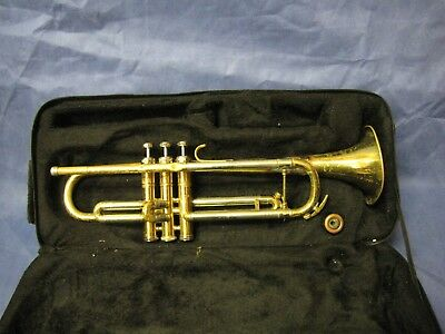 Trumpet W/ Carrying Case Weiss Superior S-137
