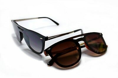 Designer One-Piece Lenses New Style Mens Womens Sunglasses Fashion Shades