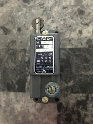 Limit Switch Square D Class 9007 Series A Type AW-36