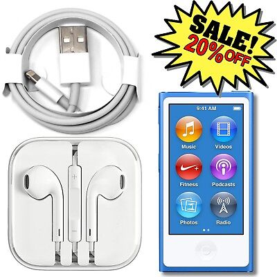 ✔ Apple iPod Nano 7th or 8th Generation 16GB (Choose Your Color)