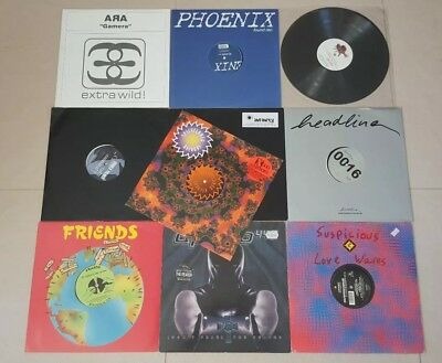 "10x 12"" Vinyl Techno/Trance/House/Electro, 90er bis Anfang 2000, Pack 1"