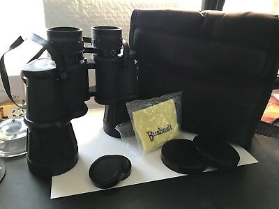 Bushnell Ensign Insta Focus Binoculars 7x50 373 Ft At 1000 yards with Case.