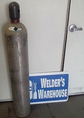 50 lb. Aluminum CO2 Carbon Dioxide tank cylinder Luxfer hydroponic brew mig weld