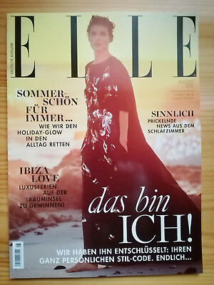 ELLE --- AUGUST 2018 --- Magazin  ---  deutsch  --- NEU & UNGELESEN