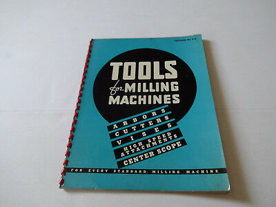 Vintage Kearney & Trecker Tools & Accessories For Milling Machines Catalogs