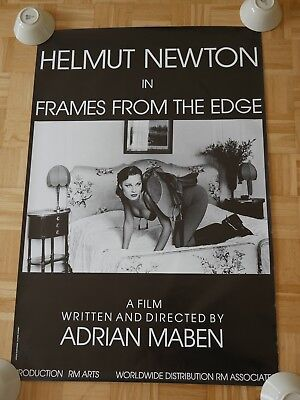 HELMUT NEWTON - Frames from the edge -116x78cm -    ORIGINAL POSTER