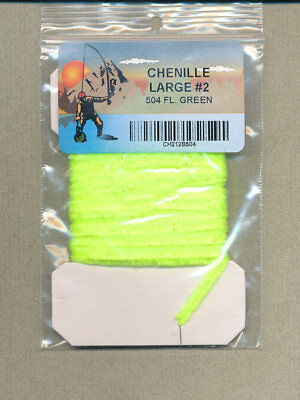 card 3 yds large Chenille tan