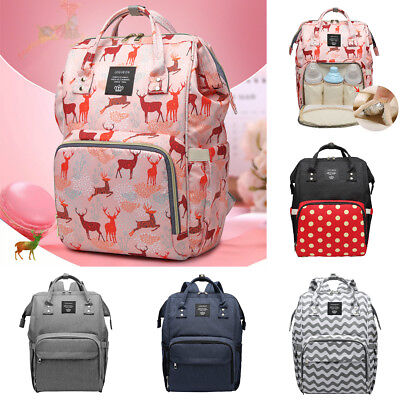 Mummy Maternity Backpack Diaper Bags Large Capacity Baby Nappy Changing Bags Hot