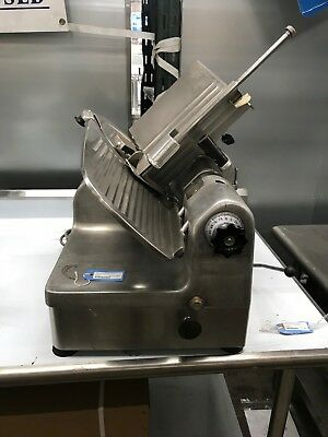 Hobart Auto Slicer Model 1712 Meat And Cheese Slicer - Tested