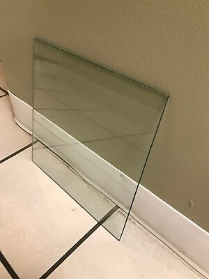 """Tempered Glass Panels 12"""" x 12"""" x 3/16"""""""