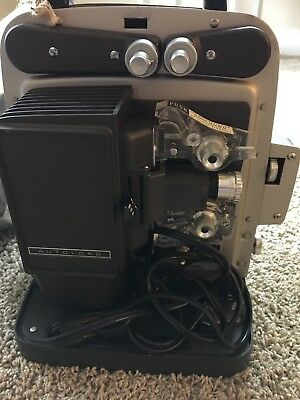 Vintage BELL & HOWELL Model 346  Super 8 Autoload 8mm Movie Projector w/ Manual