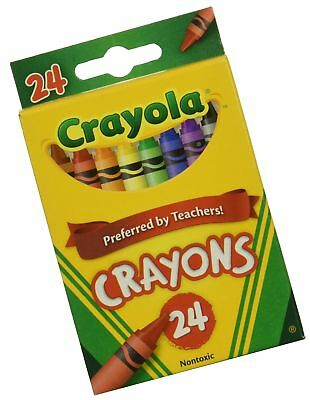 wholesale one case of crayola crayons 24 count case contains 48