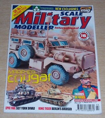 Magazine - Scale Military Modeller International Vol 46 Issue 540 March 2016
