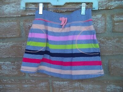 Girls Crazy 8 Striped Multicolor Skirt Size M 7-8