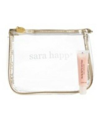 🎁Sara Happ The Lip Slip Luxe Gloss 0.5oz ~ made in USA And Cosmetic Bag NEW