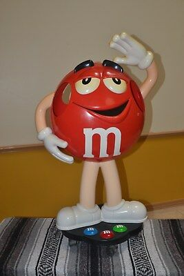 M&M Red Character Store Display - RARE large size!