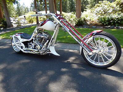 2006 Bourget Chopper  BOURGET PYTHON SUPER CUSTOM 2006 330 OPT CHOPPER MOTORCYCLE 117 S&S NR HD BEAUTY