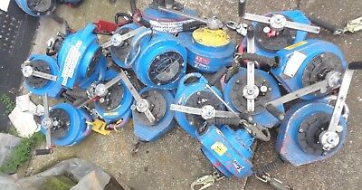 JOB LOT 16 X Checkmate Fall Arrester arrest Life Line rescue Winch heavy duty