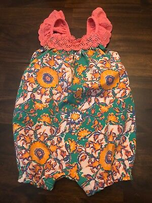 nwt size 18-24 month matilda jane carry on romper