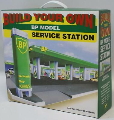 Build Your Own BP SERVICE STATION Gas Station Model Kit