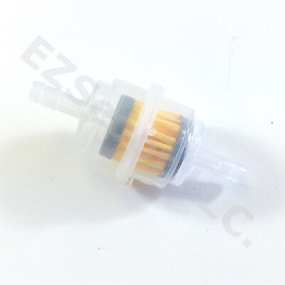 Universal Fuel Filter Gy6 Scooter Moped Atv Quad Kymco Taotao Znen Jcl Bms Tng