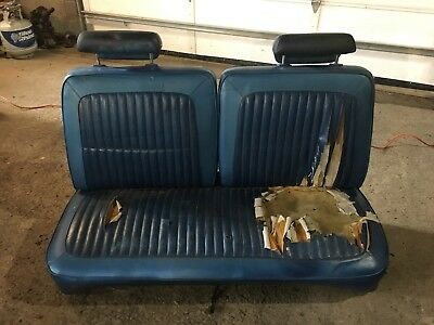 1968 1969 1970 1971 1972 1973 Dodge Dart bench seat Plymouth Duster a-body