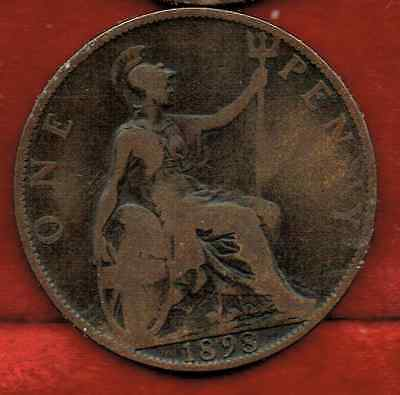 Great Britain Large Penny 1898..queen Victoria
