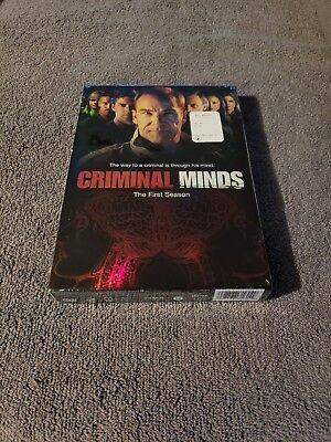 Criminal Minds - The Complete First Season DVD, 2006, 6-Disc BRAND NEW SEALED!