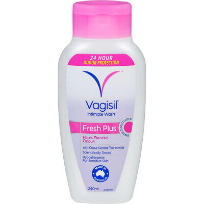 New Vagisil Intimate Wash Fresh Plus 240mL Helps Prevent Odour
