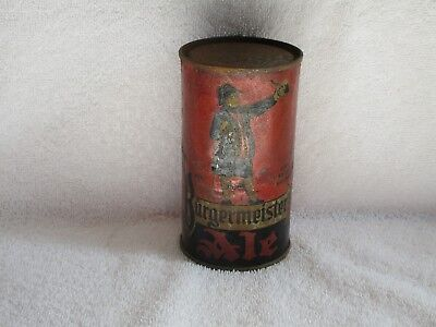 Burgermeister Ale O/I Flat Top Beer Can