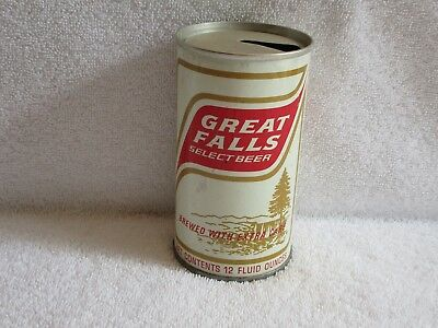 Great Falls Select Pull Top Beer Can