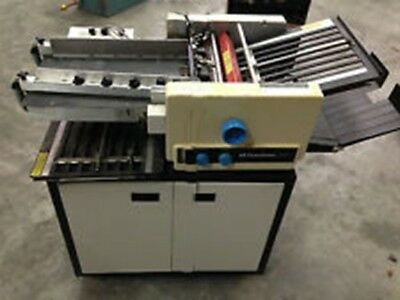 Pitney Bowes 1890 AIR FEED Paper Folder with conveyer