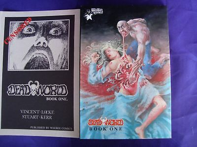 Deadworld TPB #1A 1988 Weebee Edition Comic Censored Cover 1st Print