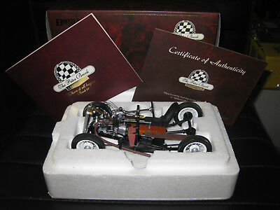 PETER BROCK 1st CAR AUSTIN A7 BROCK 01  BIANTE  1.18 AWESOME LOOKING MODEL CAR
