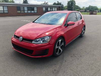 2016 Volkswagen Golf GTI 2016 Volkswagen GTI 6-Speed 26,000 Miles 2-Door Hatchback