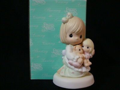 Precious Moments-Rare Early Release Limited Edition-Safe In Mom's Arms