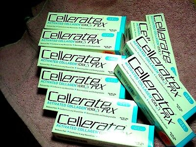 10 tubes Cellerate Rx Activated Collagen Gel 28 gm